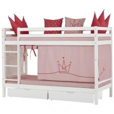 """Dviaukštė lova """"Basic Princess"""""""