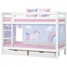 """Dviaukštė lova """"Premium Unicorn"""""""