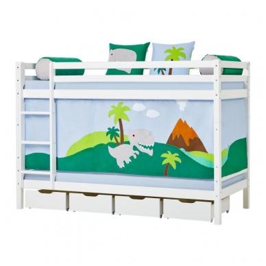 """Dviaukštė lova """"Basic Dinosaur"""" 3"""