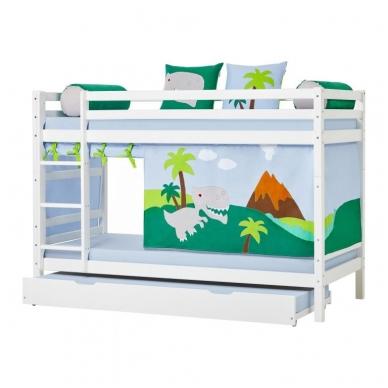 """Dviaukštė lova """"Basic Dinosaur"""" 5"""