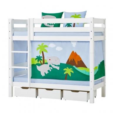 """Dviaukštė lova """"Basic Dinosaur"""" 4"""