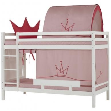 """Dviaukštė lova """"Basic Princess"""" 2"""
