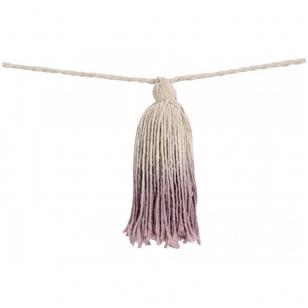 """Girlianda """"Pom Pom"""" violetinė"""