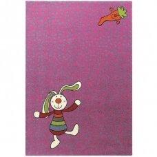 """Kilimas """"Rainbow Rabbit"""" violetinis"""