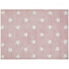 "Kilimas ""Stars Pink-White"" 120x160cm"