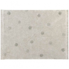 "Kilimas ""Hippy Dots Natural-Olive"" 120x160cm"