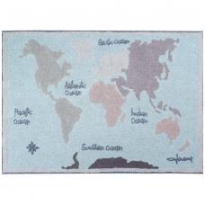 "Kilimas ""Vintage Map"" 140x200cm"