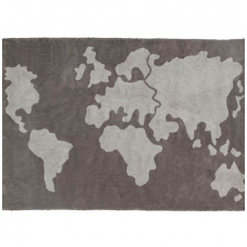 "Kilimas ""World Map"" 140x200cm"
