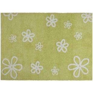 """Kilimas """"Gėlytės"""" žalias 120x160cm"""