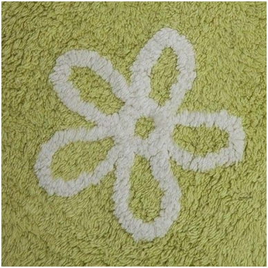 """Kilimas """"Gėlytės"""" žalias 120x160cm 3"""