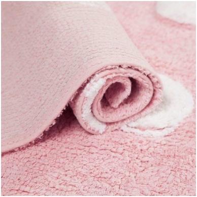 """Kilimas """"Taškiukai"""" rožinis 120x160cm 3"""