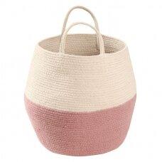 """Krepšys daiktams """"Zoco"""" smėlinis-rožinis"""