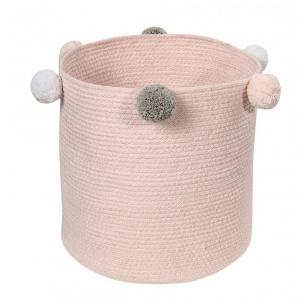 """Krepšys daiktams """"Burbuliukai"""" rožinis"""