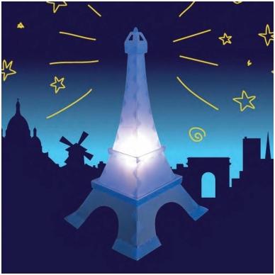 "Naktinė lempa ""Eifelio bokštas"""