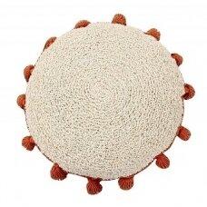 "Pagalvėlė ""Circle"" terracotta"