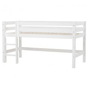 """Modulinė paaukštinta lovytė """"Priemium"""" h-114 cm su stačiomis kopetėlėmis"""