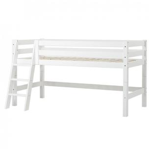 """Modulinė paaukštinta lovytė """"Premium"""" h-114 cm su pasvirusiomis kopetėlėmis"""