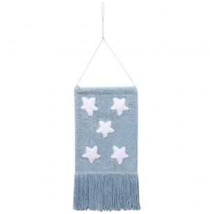 """Pakabinama dekoracija """"Žvaigždės"""" mėlyna"""