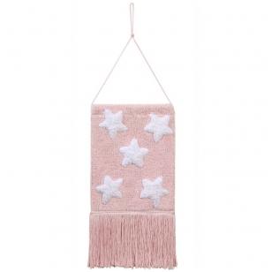 """Pakabinama dekoracija """"Žvaigždės"""" rožinė"""