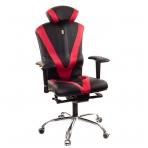 """Reguliuojama kėdė """"VICTORY"""" juoda/raudona"""