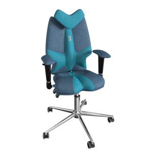 """Reguliuojama kėdė """"FLY"""" džinsinė/turkio"""