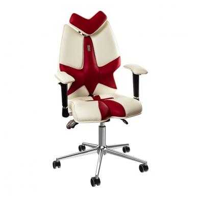 """Reguliuojama kėdė """"FLY"""" balta/raudona"""