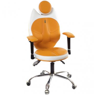 """Reguliuojama kėdė """"TRIO"""" oranžinė/balta"""