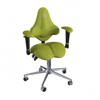 "Reguliuojama kėdė ""KIDS"" žalia-olive"