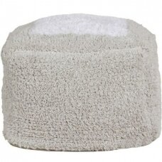 """Pufas """"Marshmallow Square Pearl Grey"""" 30x39cm"""