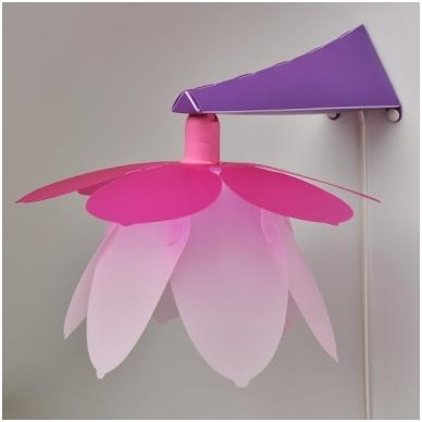 """Sieninė lempa """"Gėlė"""""""