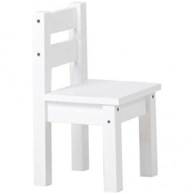 """Kėdutė """"Hop"""" balta"""