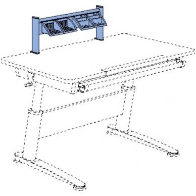 Stalo lentynėlė 4