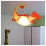 """Vaikiškas šviestuvas """"Drakonas"""""""