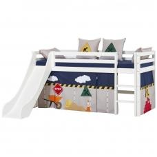 """Vaikiška lovytė su čiuožykla """"Basic Construction"""""""