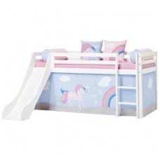 """Vaikiška lovytė su čiuožykla """"Basic Unicorn"""""""