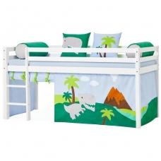 """Vaikiška paaukštinta lovytė """"Basic Dinosaur"""" h-105cm"""
