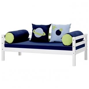 """Vaikiška lovytė """"Kosmosas"""" su čiužiniu ir pagalvėlėmis"""