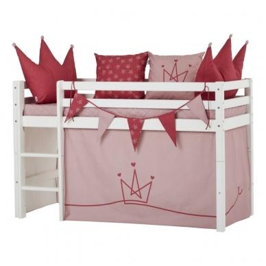 """Vaikiška paaukštinta lovytė """"Basic Princess"""" h-105cm 2"""
