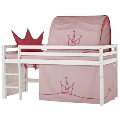 """Vaikiška paaukštinta lovytė """"Basic Princess"""" h-105cm 3"""