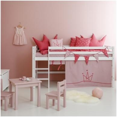 """Vaikiška paaukštinta lovytė """"Basic Princess"""" h-105cm 4"""