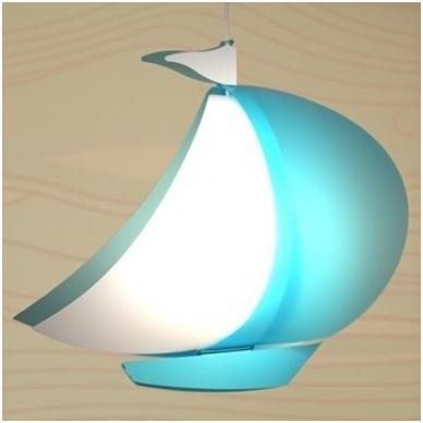 """Vaikiškas šviestuvas """"Laivas"""""""