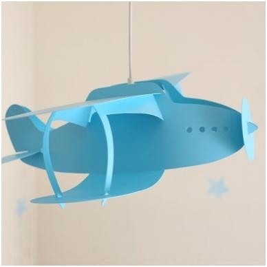 """Vaikiškas šviestuvas """"Lėktuvas"""" 9"""