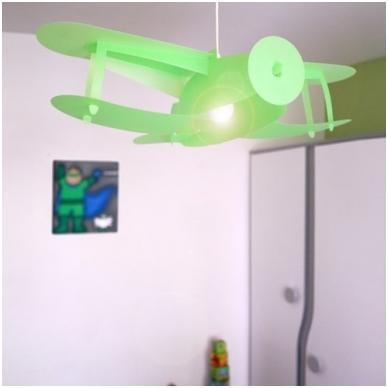 """Vaikiškas šviestuvas """"Lėktuvas"""" 6"""