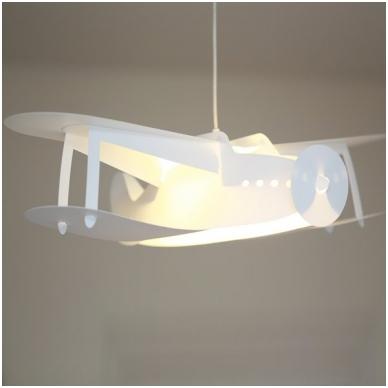"""Vaikiškas šviestuvas """"Lėktuvas"""" 7"""