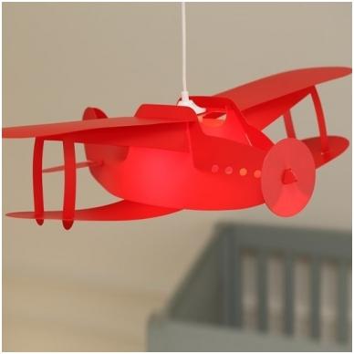 """Vaikiškas šviestuvas """"Lėktuvas"""" 8"""
