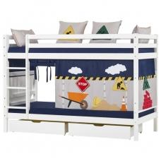 """Dviaukštė lova """"Basic Construction"""""""