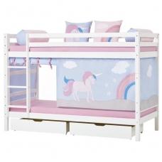 """Dviaukštė lova """"Basic Unicorn"""""""