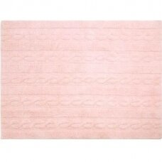 "Kilimas ""Braids Soft Pink"""