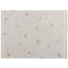 "Kilimas ""Hippy Dots Natural-Vintage Nude"" 120x160cm"