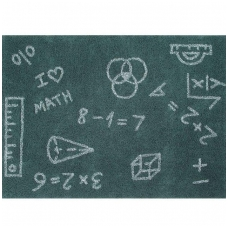 "Kilimas ""I Love Math"" 140x200cm"